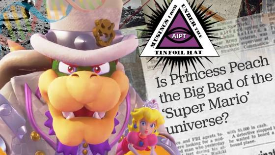 Is Princess Peach secretly the big bad of the 'Super Mario' universe?