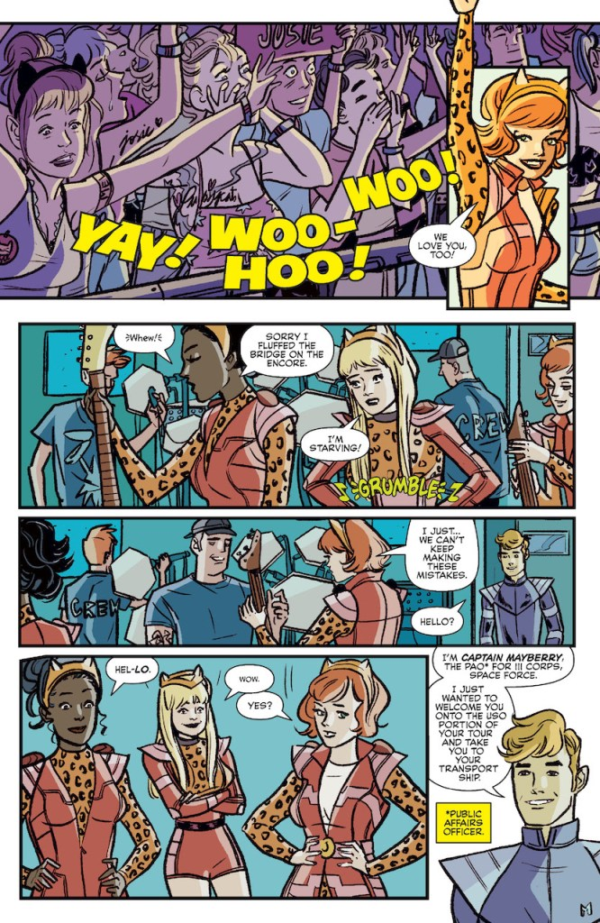 ComiXology Preview: Josie and the Pussycats in Space