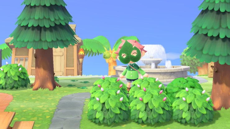 Nature Day rewards green thinking in Animal Crossing: New Horizons