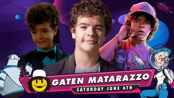 GalaxyCon Live continues to connect fans to celebrities with Stranger Things star Gaten Matarazzo appearing June 6.