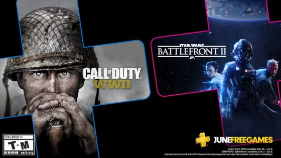Star Wars Battlefront II and Call of Duty: WWII on PS Plus