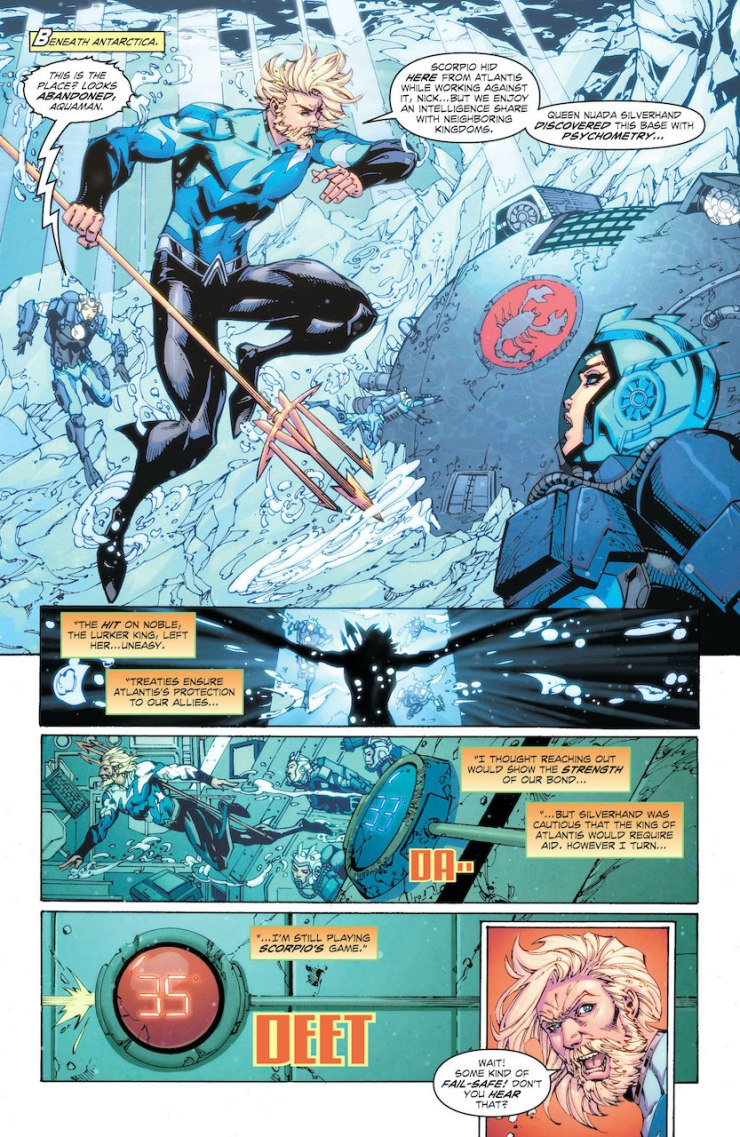 DC Preview: Aquaman: Deep Dives #6