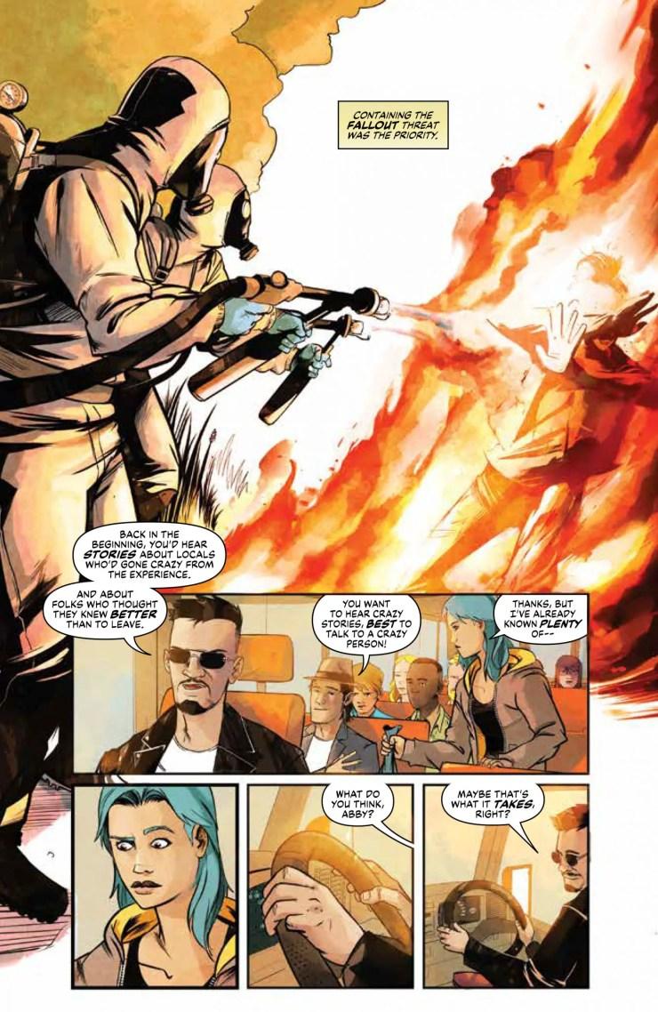 Disaster Inc. #1 panel