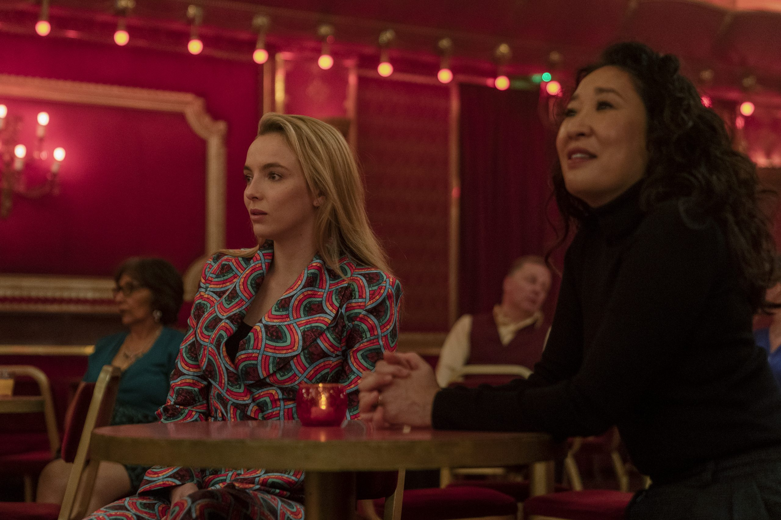 Eve and Villanelle have a less awkward and more compassionate reunion while Konstantin's double dealings catch up to him.