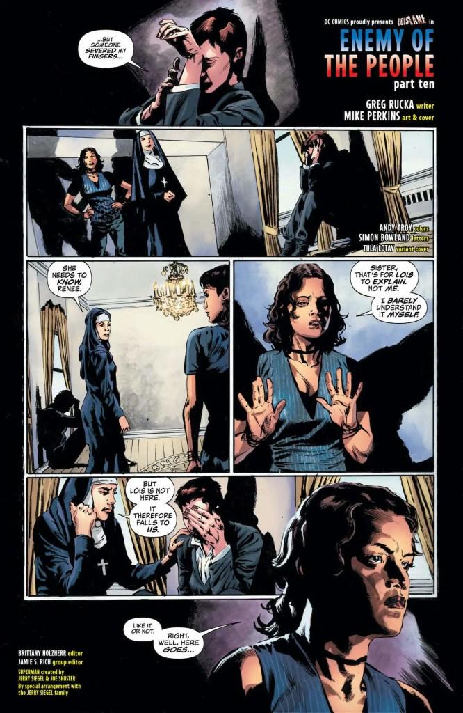 DC Preview: Lois Lane #10