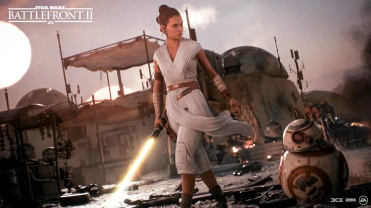 Rey Star Wars Battlefront 2: Battle of Scarif