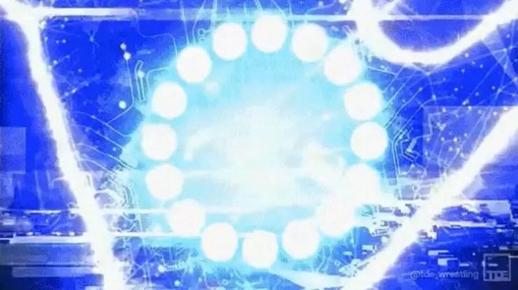 SmackDown hacker/Mustafa Ali symbol