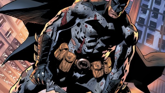 The Batmobile is blown to shreds in The Batman's Grave #7!