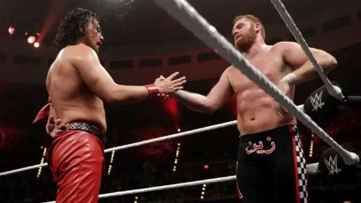 Shinsuke Nakamura debuts against Sami Zayn at NXT Takeover: Dallas on April 1, 2016.