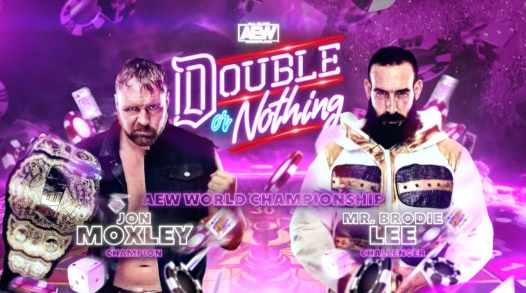 AEW Double or Nothing - Jon Moxley vs. Mr. Brodie Lee