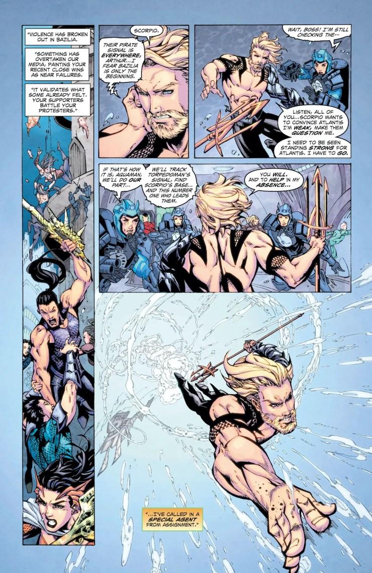 DC Preview: Aquaman: Deep Dives #7