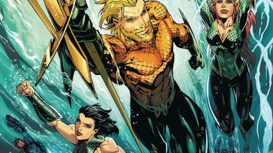 The final showdown between Aquaman and Scorpio!