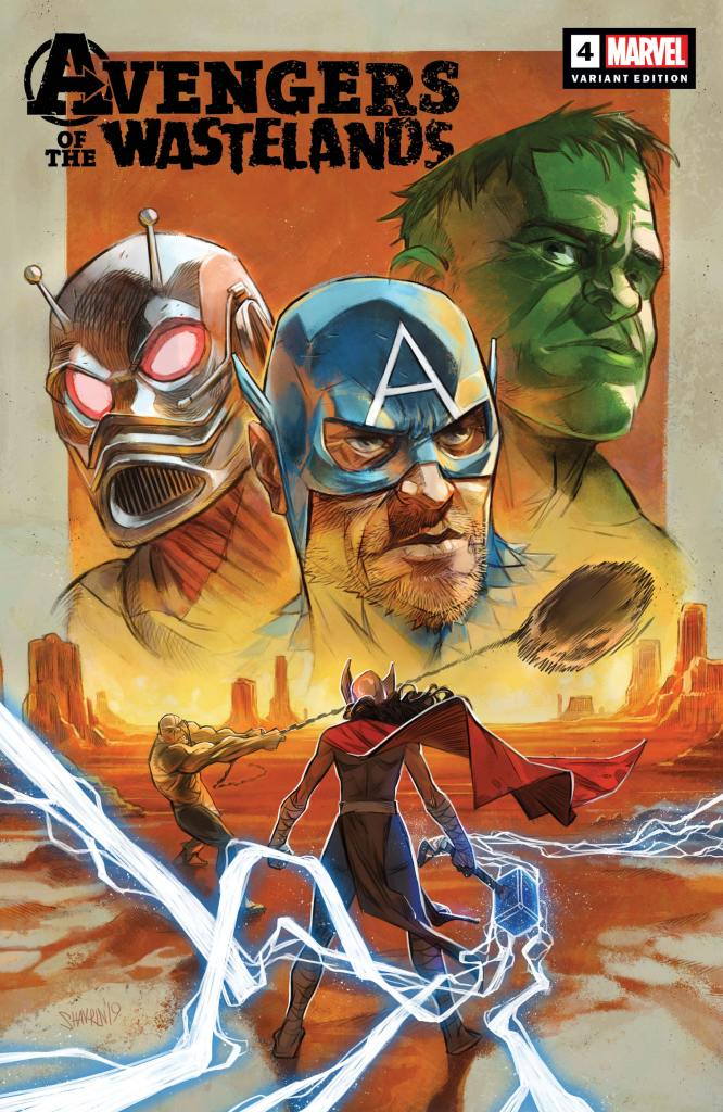 Avengers of the Wasteland #4 variant cover