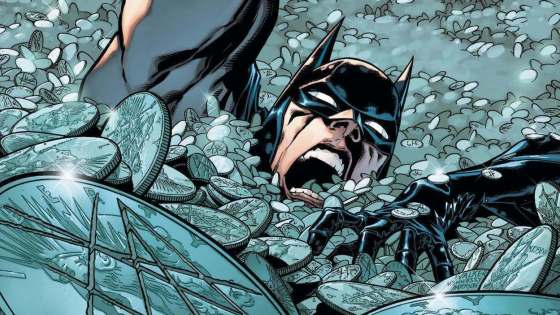 Batman faces off against a vat of acid and comes with a Joker surprise.