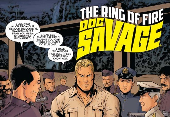 Post-Game: 'Doc Savage: The Ring of Fire' (with David Avallone)