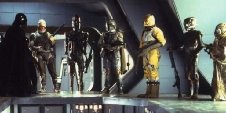 Empire Strikes Back Bounty Hunters