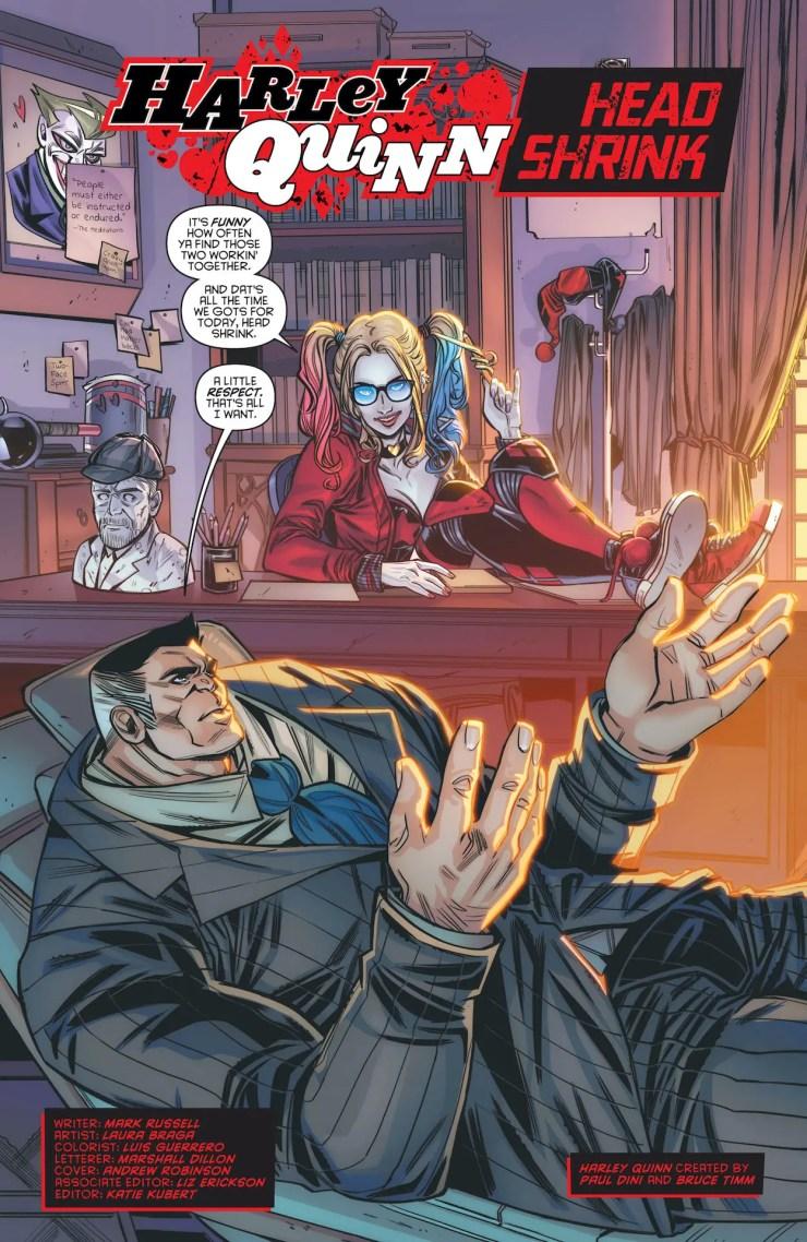 DC Preview: Harley Quinn: Make 'em Laugh #1