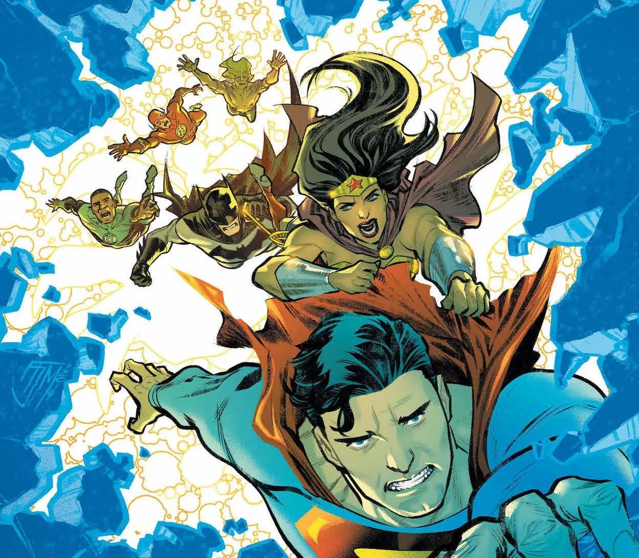 'Justice League' #44 review: Explosive action