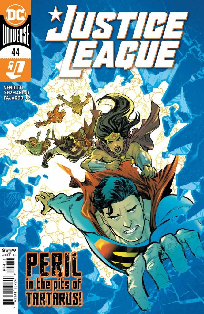 Justice League #44 preview
