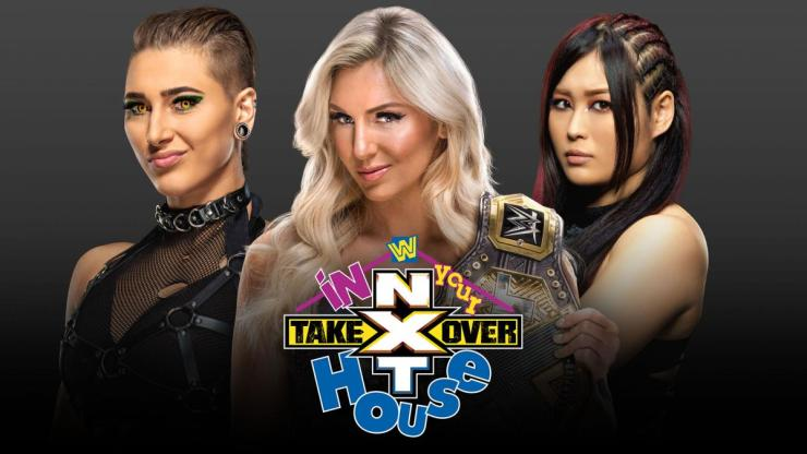 NXT TakeOver: In Your House - Charlotte Flair vs. Rhea Ripley vs. Io Shirai