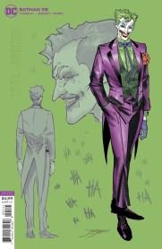 Jorge Jiménez's Joker sketch cover