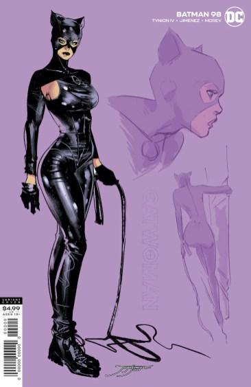 Jorge Jiménez's Catwoman sketch cover
