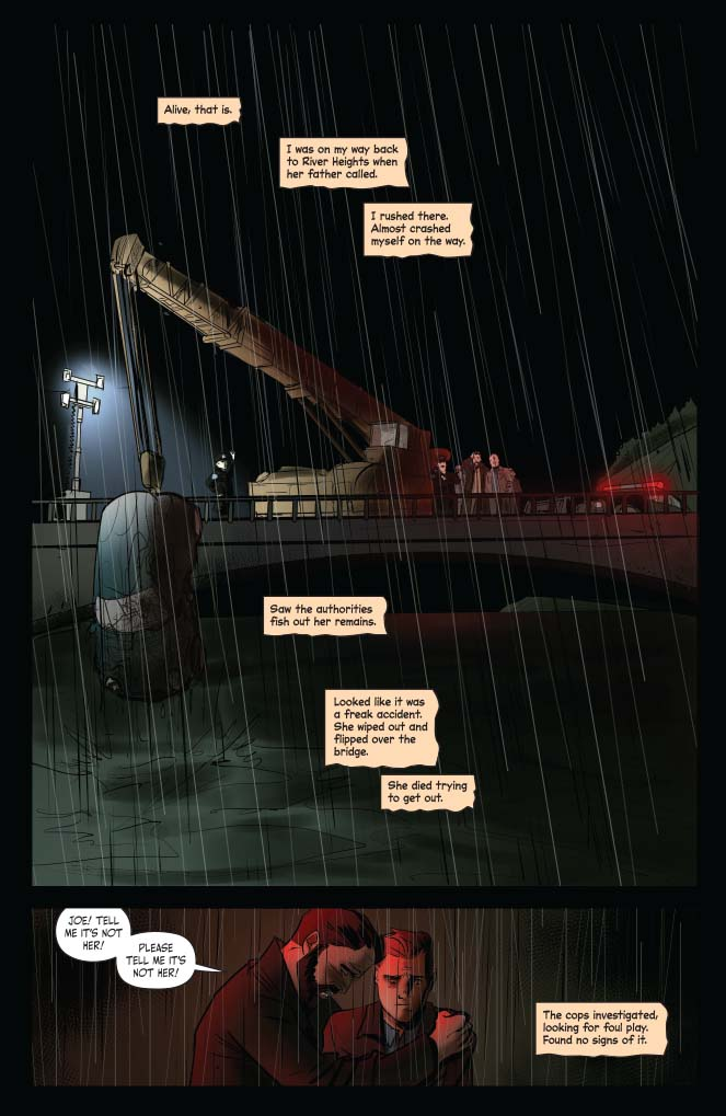Dynamite Preview: The Death of Nancy Drew #1