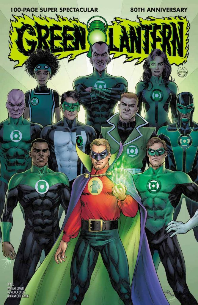DC Preview: Green Lantern 80th Anniversary 100 Page Super Spectacular #1