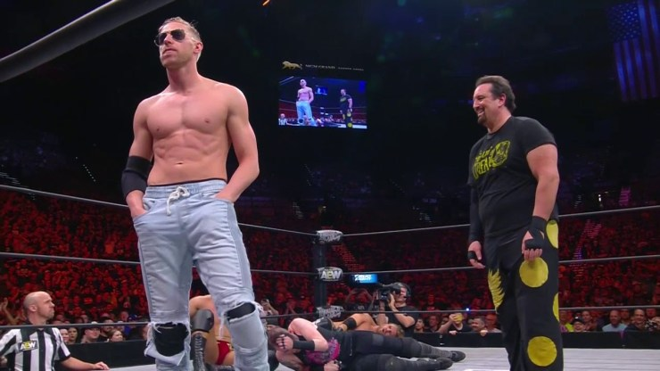 What happened to AEW being sports-centric?