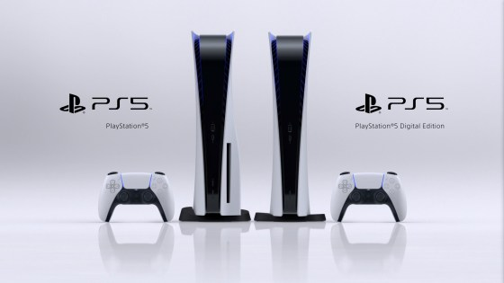 PS5 Console family