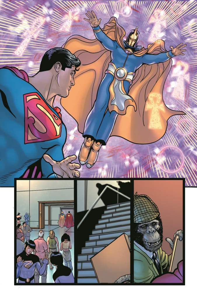 DC First Look: Superman #23 - The Man of Steel vs. a new villain...