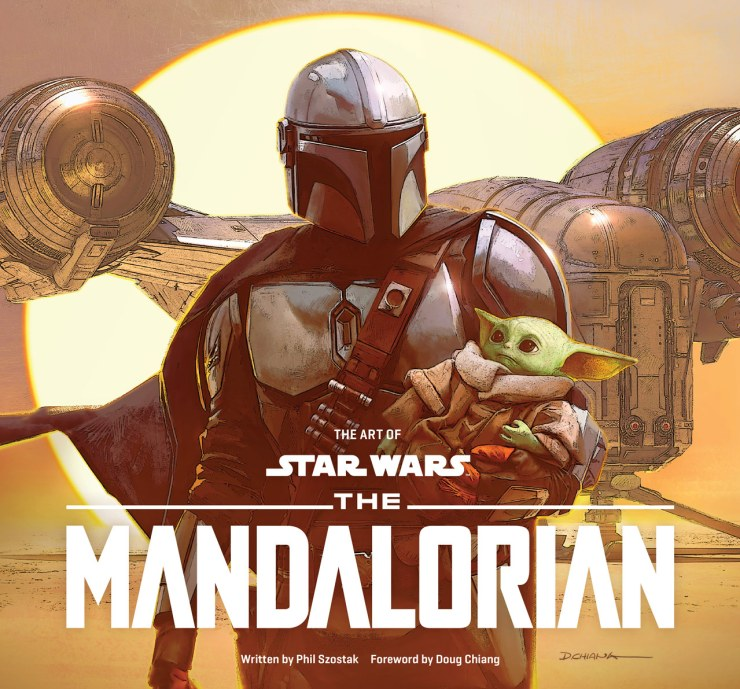 'The Art of The Mandalorian' cover