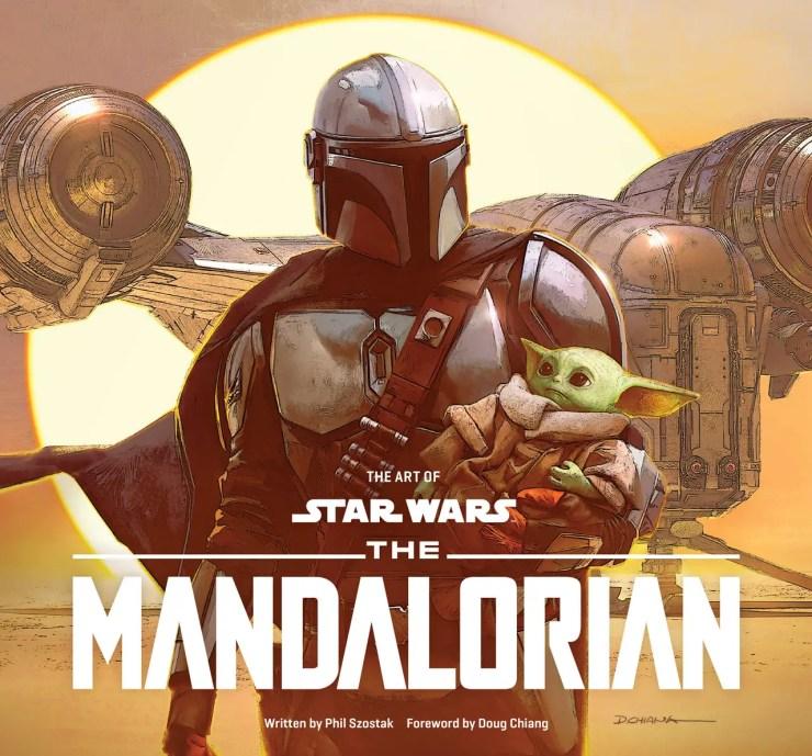 'The Art of Mandalorian' cover