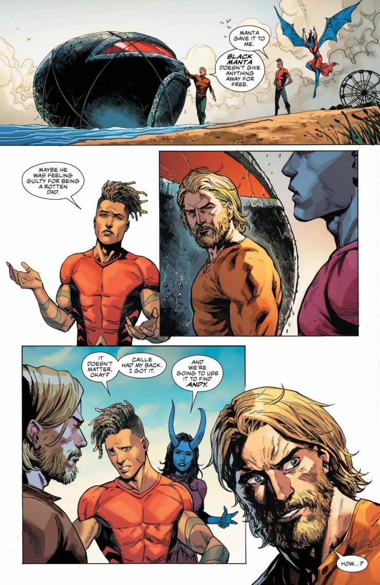DC Preview: Aquaman #60
