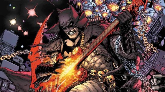 Dark Nights: Death Metal #1 is equally challenging and frisky in its approach.