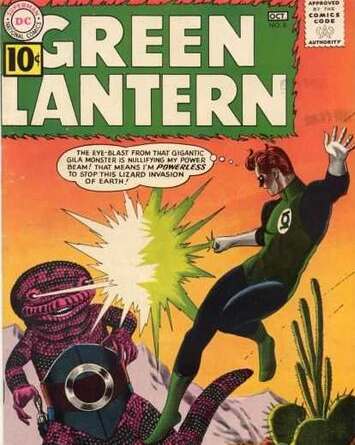 Green Lantern and the paradigm of superheroism
