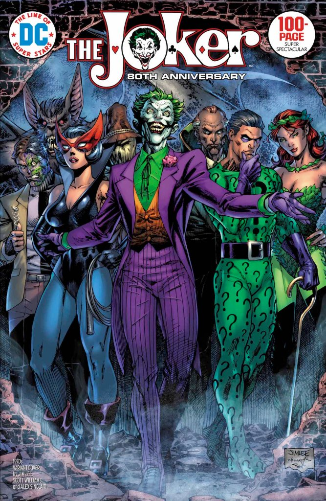 DC Preview: Joker 80th Anniversary 100-Page Super Spectacular #1