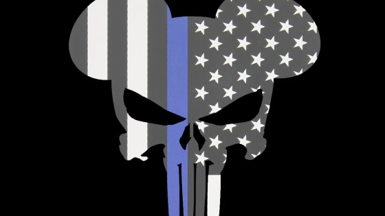 Punisher/Disney/Cop logo