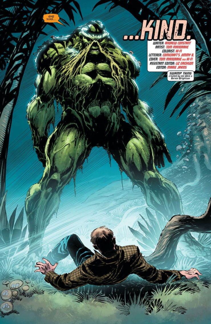 DC Preview: Swamp Thing: New Roots #9