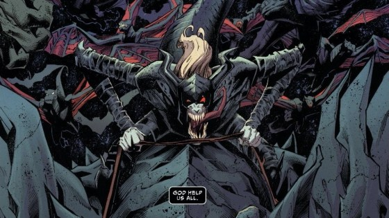King in Black is a new Marvel event by Ryan Stegman and Donny Cates.