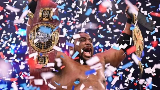 Keith Lee - NXT ratings winner
