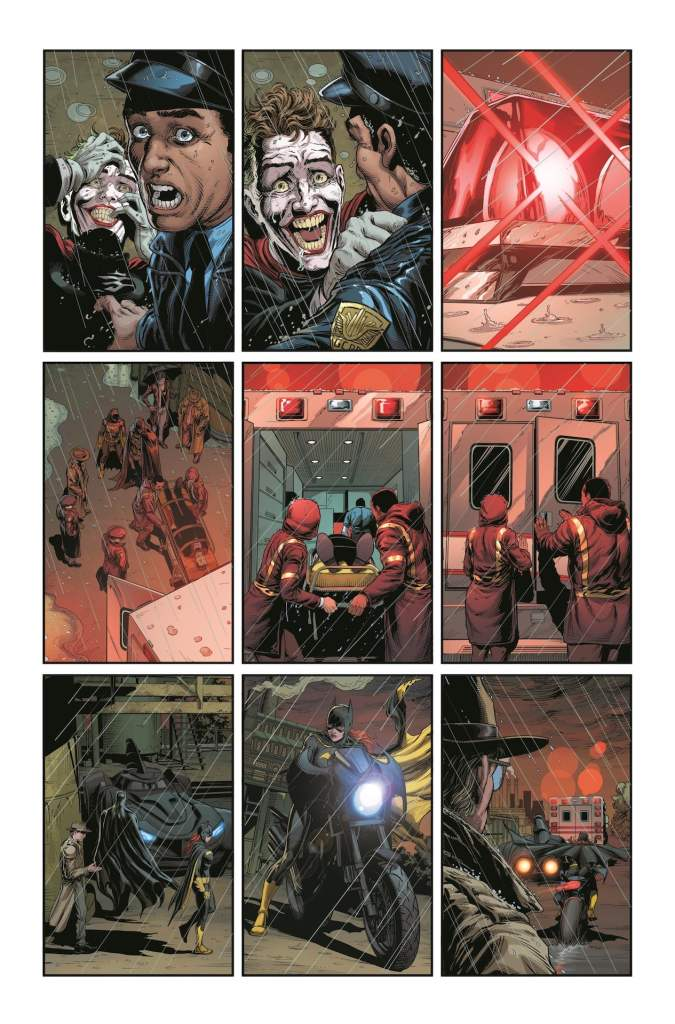 DC Comics releases 3 more unlettered pages from 'Batman: Three Jokers'