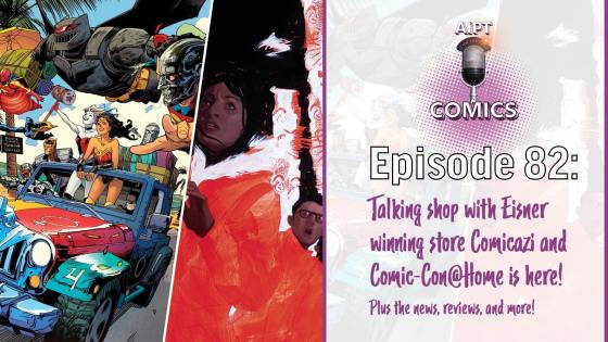 LCS manager Jill Carter joins the Comics podcast to talk about how her shop has endured during the pandemic and so much more.
