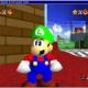 Luigi in Mario 64