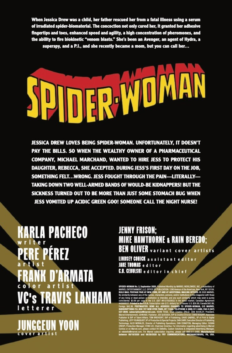 Marvel Preview: Spider-Woman #2