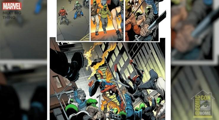 Marvel Comics Next Big Thing Panel