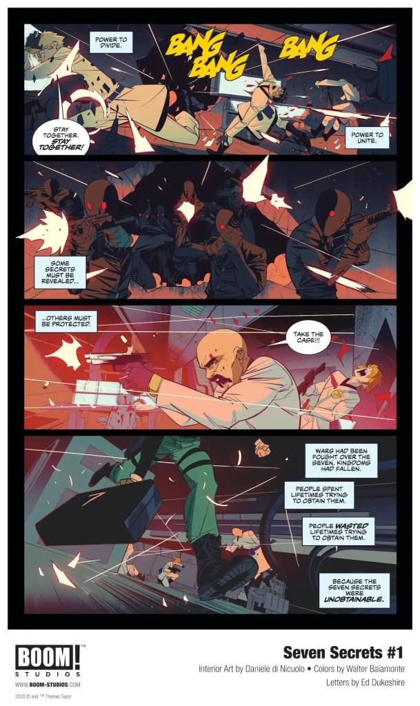 BOOM! Studios First Look: Seven Secrets #1