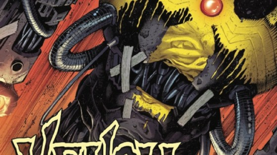 If you thought VENOM ISLAND was insane comic book action of the highest order, then shut your yapper and face front.
