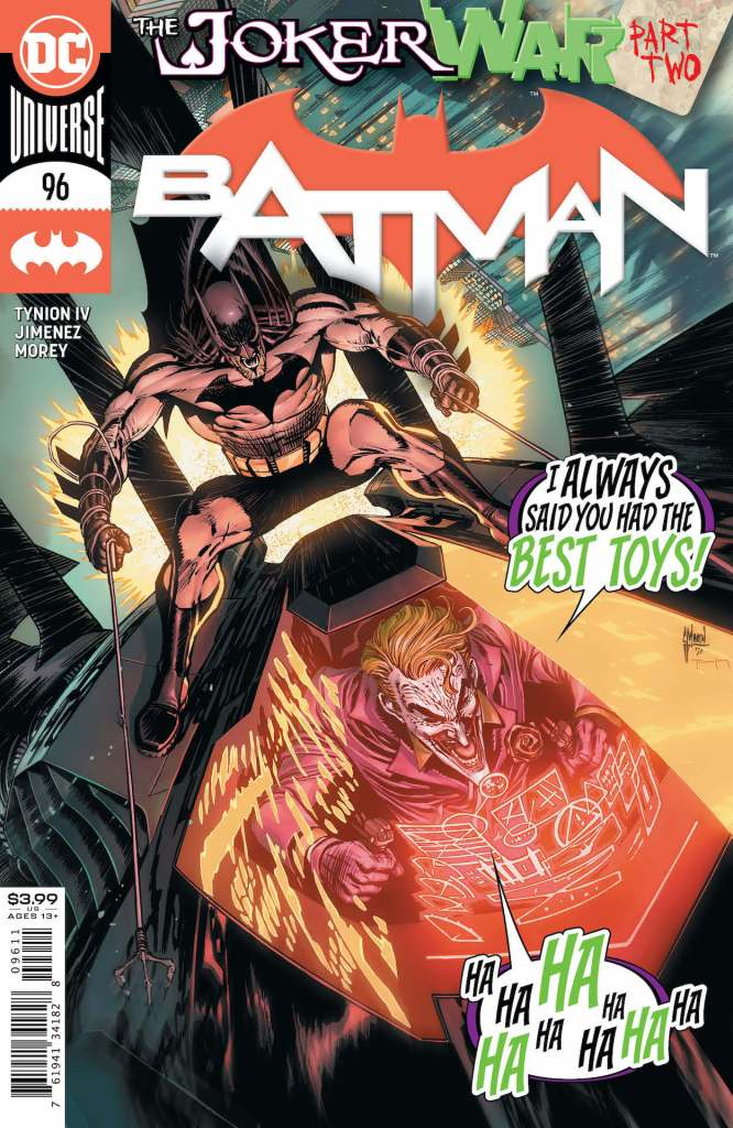 DC Preview: Batman #96