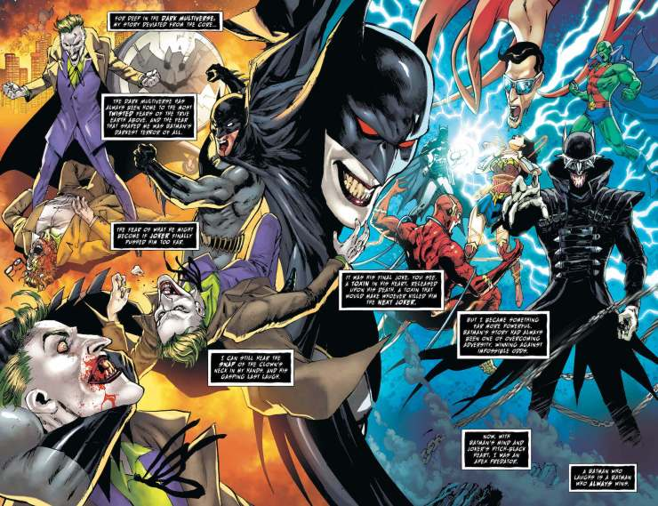 Dark Nights: Death Metal Legends of the Dark Knights
